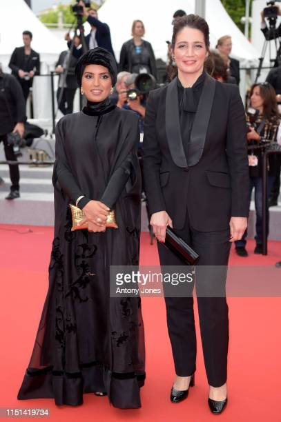 Fatma Hassan Al Remaihi and Hanaa Issa attend the photocall for It Must Be Heaven during the 72nd annual Cannes Film Festival on May 24 2019 in...
