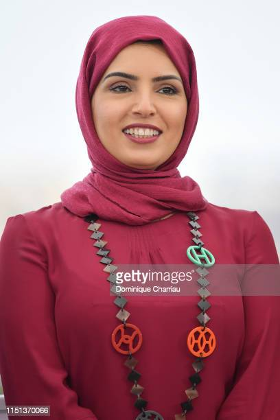 Fatma Hassan Al Remaihi attends the photocall for It Must Be Heaven during the 72nd annual Cannes Film Festival on May 24 2019 in Cannes France