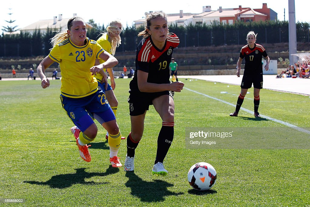 Sweden v Germany - Women's Algarve Cup 2015 3rd Place Match