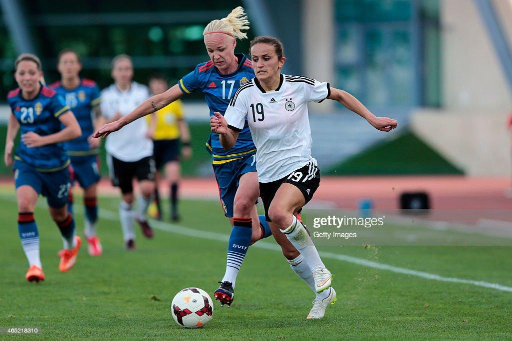 Germany v Sweden - Women's Algarve Cup