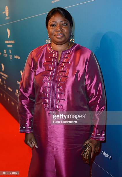 Fatou Bensouda attends the Cinema For Peace Gala 2013 during the 63rd Berlinale International Film Festival at the Waldorf Astoria Hotel on February...