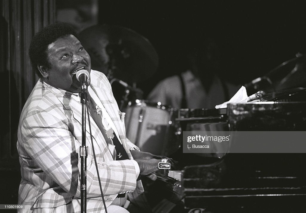 Fats Domino Preforms at EMI Legends of Rock n' Roll Series
