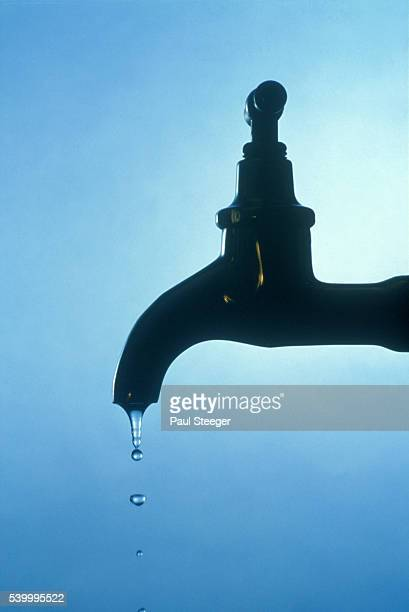 Faucet Dripping Water