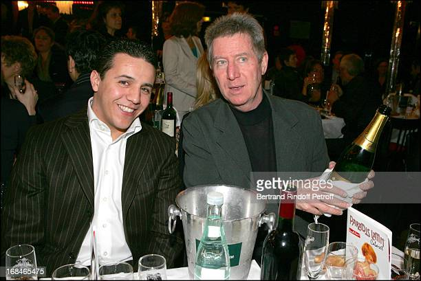 Faudel and Regis Wargnier at Dalida TV Film Tribute To The Singer