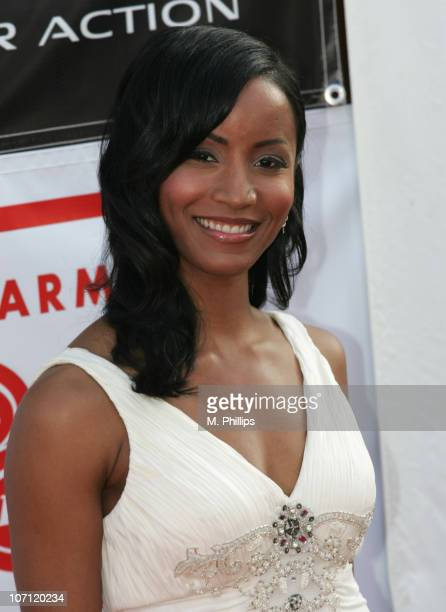 Faune A Chambers during 21st Annual Soul Train Music Awards Arrivals at Pasadena Civic Center in Pasadena California United States
