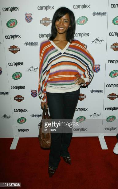 Faune A Chambers during Complex Magazine Celebrates 5th Anniversary at Area in West Hollywood California United States