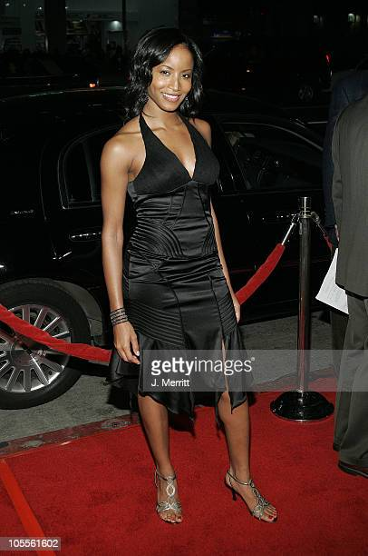 Faune Chambers during Coach Carter Los Angeles Premiere Arrivals at Grauman's Chinese Theater in Hollywood California United States
