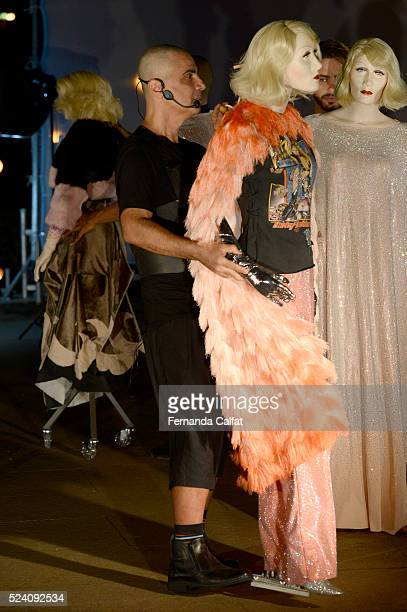 Fause Haten walks at FH by Fause Haten Performance at SPFW Summer 2017 on April 24 2016 in Sao Paulo Brazil