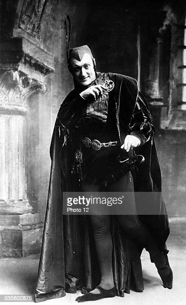 Faust by Gounod The part of  Mephisto is played by actor VanniMarcoux