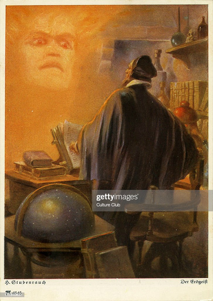Faust By Johann Wolfgang Von Goethe German Writer And