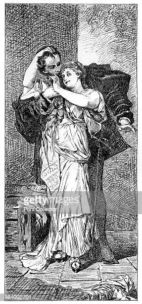 'Faust' c18801882 A print from Modern Artists prepared under the direction of FG Dumas JS Virtue and Co London c18801882