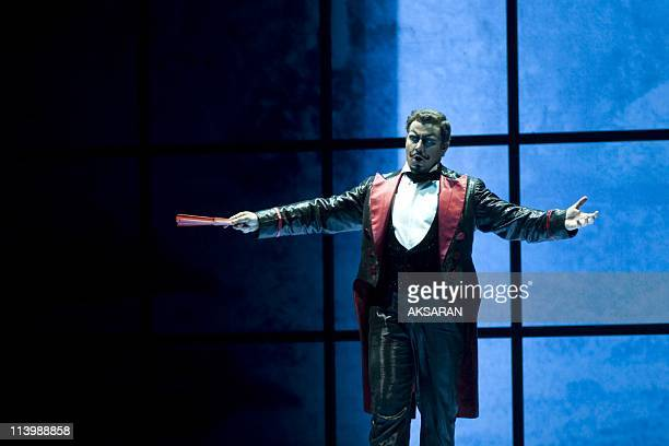 'Faust' staged by director Nicolas Joel premiere in Toulouse France On June 16 2009 before its inresidence at Opera BastilleGiuseppe Filianoti is...