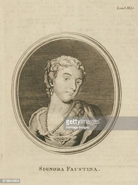 Faustina Hasse, born Bordoni , 1777. Private Collection.