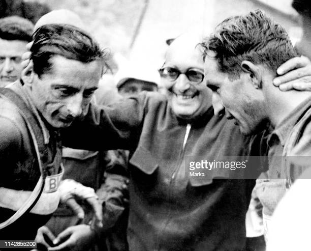 Fausto Coppi. Gino Bartali. 1949.