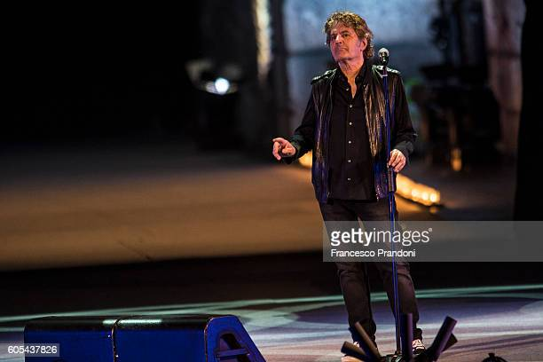 Fausto Leali at Festival Show 2016 in Arena on September 13 2016 in Verona Italy