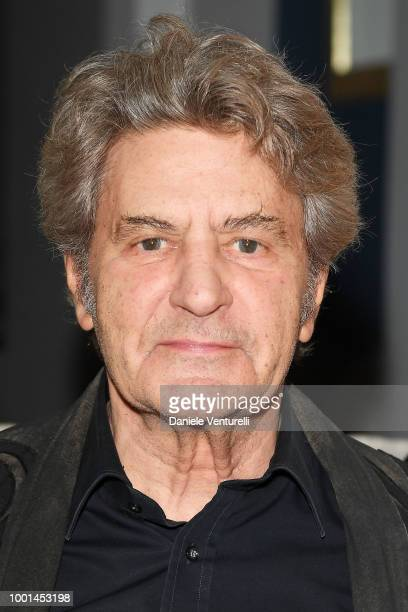 Fausto Leali attends 2018 Ischia Global Film Music Fest on July 18 2018 in Ischia Italy