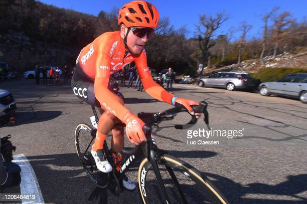 Fausto Masnada of Italy and CCC Team / during the 5th Tour de La Provence 2020, Stage 3 a 143,5km stage from Istres to Chalet Reynard - Mont Ventoux...