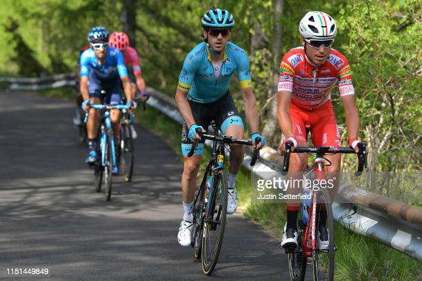 Fausto Masnada of Italy and Team Androni Giocattoli Sidermec / Ion Izaguirre of Spain and Astana Pro Team / during the 102nd Giro d'Italia 2019 Stage...