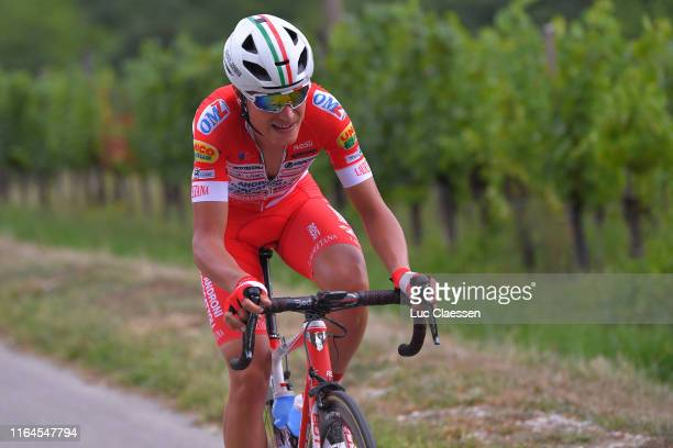 Fausto Masnada of Italy and Team Androni Giocattoli-Sidermec / during the 2nd Adriatica Ionica Race 2019, Stage 4 a 204,5km stage from Padola to...