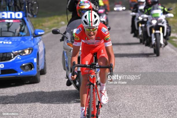 Fausto Masnada of Italy and Team Androni Giocattoli-Sidermec / during the 101th Tour of Italy 2018, Stage 9 a 225km stage from Pesco Sannita to Gran...
