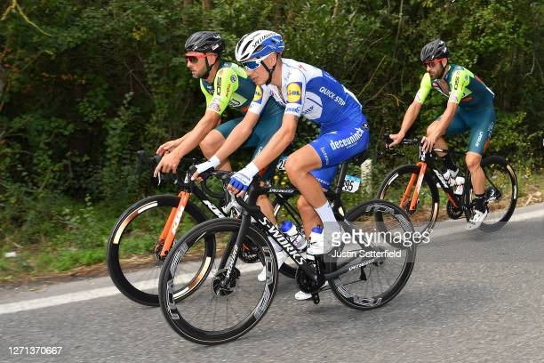 Fausto Masnada of Italy and Team Deceuninck - Quick-Step / during the 55th Tirreno-Adriatico 2020, Stage 2 a 201km stage from Camaiore to Follonica /...