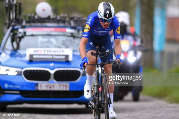 Fausto Masnada of Italy and Team Deceuninck - Quick-Step during the 74th Tour De Romandie 2021, Stage 5 a 16,19km Individual Time Trial stage from...