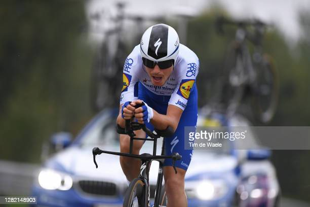 Fausto Masnada of Italy and Team Deceuninck - Quick-Step / during the 103rd Giro d'Italia 2020, Stage 21 a 15,7km Individual time trial from Cernusco...