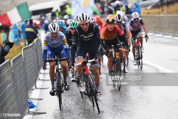 Fausto Masnada of Italy and Team Deceuninck - Quick-Step / Giulio Ciccone of Italy and Team Trek - Segafredo / during the 103rd Giro d'Italia 2020,...