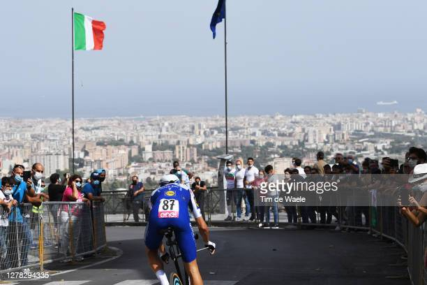 Fausto Masnada of Italy and Team Deceuninck - Quick-Step / Public / Fans / Palermo City / Mountains / Landscape / during the 103rd Giro d'Italia...
