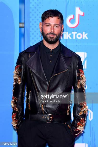 Fausto Puglisi attends the MTV EMAs 2018 on November 4 2018 in Bilbao Spain