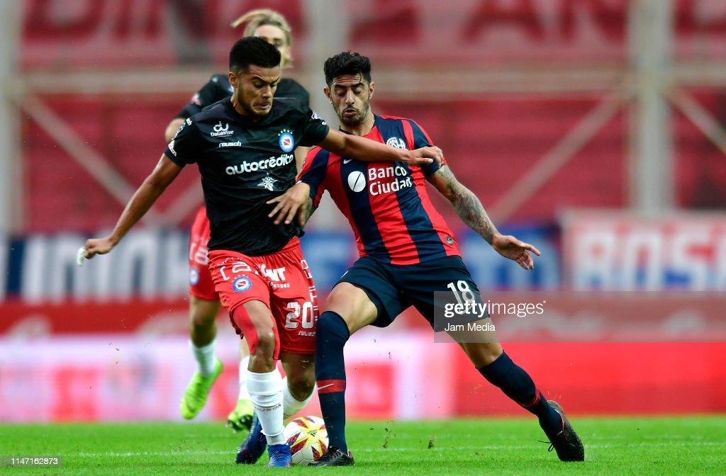 San Lorenzo v Argentinos Juniors - Copa De La Superliga 2019 : News Photo