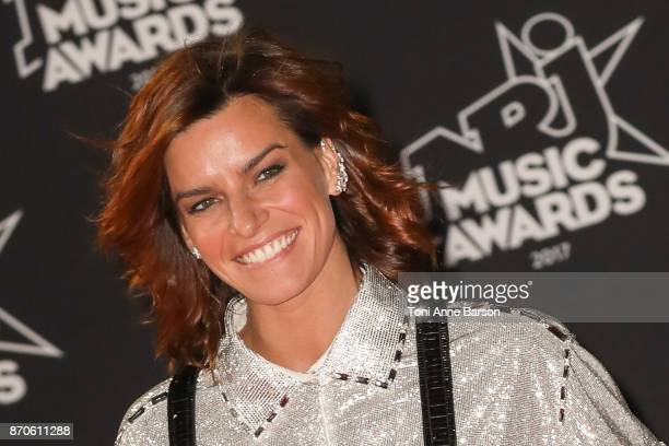 Fauve Hautot arrives at the 19th NRJ Music Awards ceremony at the Palais des Festivals on November 4 2017 in Cannes France