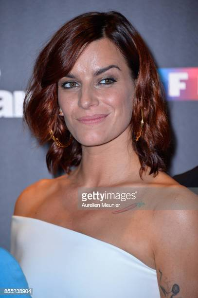 Fauve Hautot attends the 'Danse avec les Stars' photocall at TF1 on September 28 2017 in Paris France