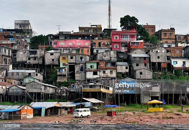 favela amazonica - favela stock pictures, royalty-free photos & images