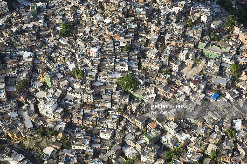 favela da Rocinha, Rio de Janeiro, Brazil, : Bildbanksbilder