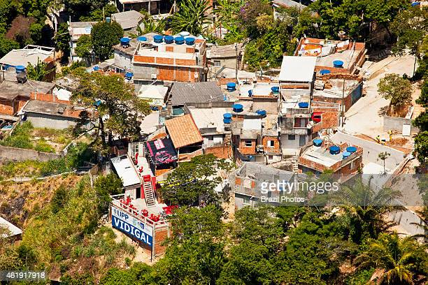 Favela do Vidiga UPP headquater a law enforcement program in the state of Rio de Janeiro which aims at reclaiming territories more commonly favelas...