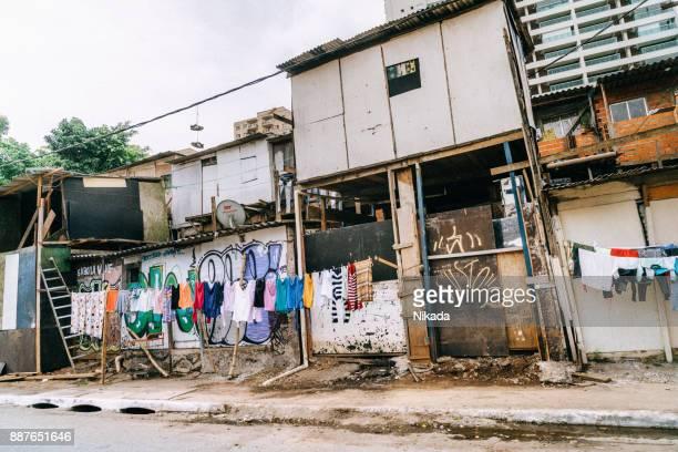 Favela in Sao Paulo, Brazil