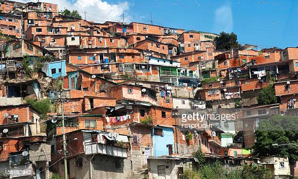 Favela of Caracas city