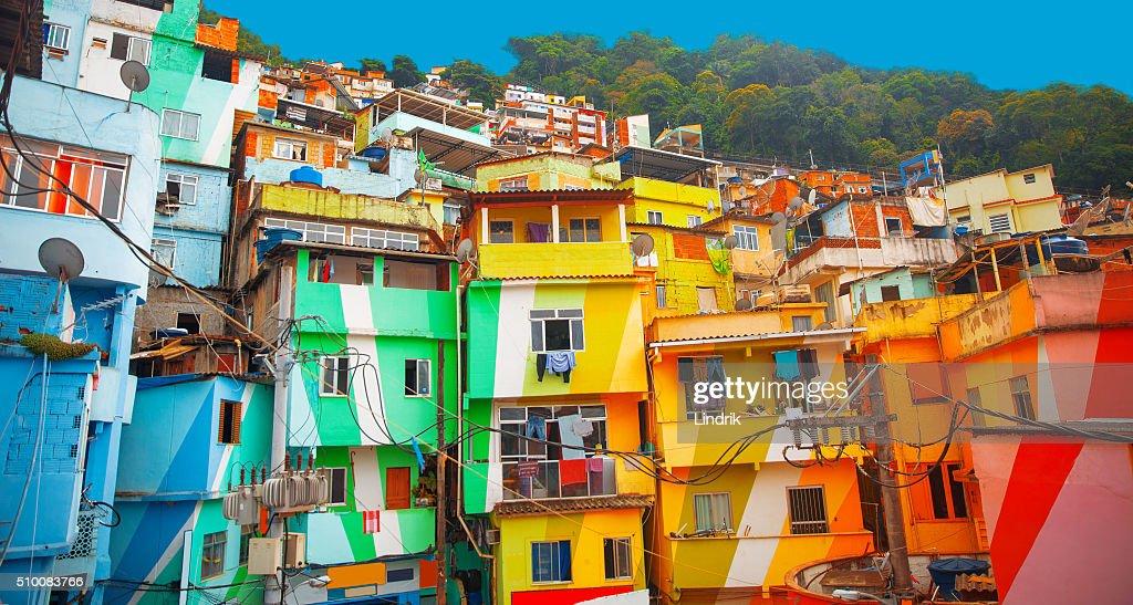 Favela : Stock Photo