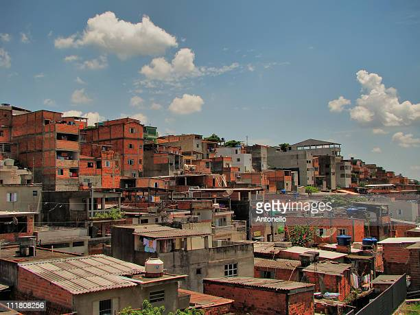 favelas - favela stock pictures, royalty-free photos & images