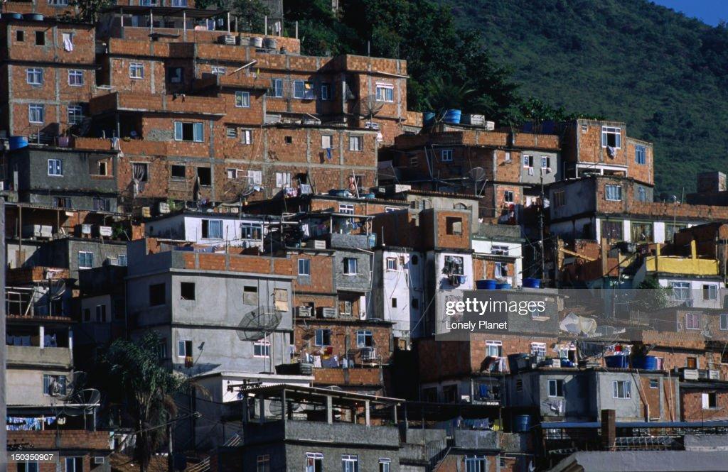 Favella do Canto Galo, Copacabana. : Stock Photo