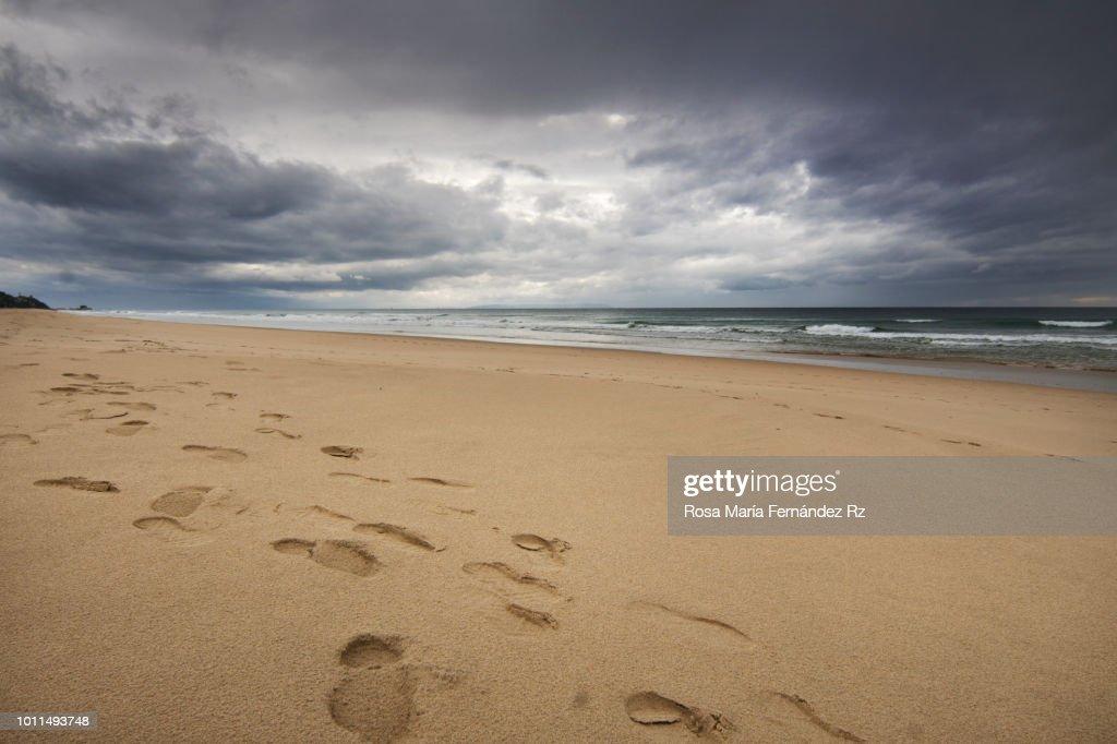 Favorite beach. Zahara de los Atunes, Cádiz, Andalusia, Spain : Stock Photo