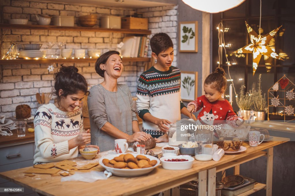 Favorite family tradition : Stock Photo