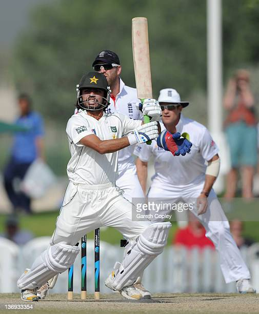 Fawad Alam of Pakistan Cricket Board XI bats during the tour match between England and Pakistan Cricket Board XI at The ICC Global Academy on January...