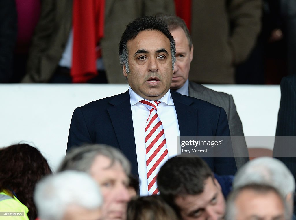 Fawar Al Hasawi, Chairman of Nottingham Forest watches from the stands during the Sky Bet Championship match between Nottingham Forest and Millwall at City Ground on April 05, 2014 in Nottingham, England,