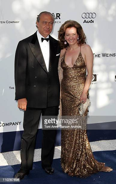 Fawaz Gruosi and Caroline GruosiScheufele during amfAR's Cinema Against AIDS Benefit in Cannes Presented by Bold Films Palisades Pictures and The...