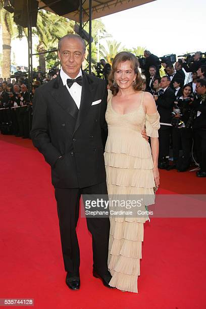Fawaz Gruosi and his wife Caroline Schefeule arrive at the premiere of 'Zodiac' during the 60th Cannes Film Festival