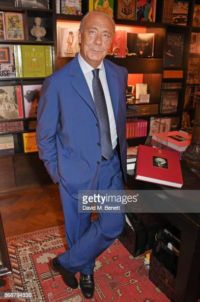Fawaz Gruosi attends the launch of 'Daring Creativity' a book which celebrates de Grisogono's jewellery hosted by Fawaz Gruosi and Vivienne Becker at...