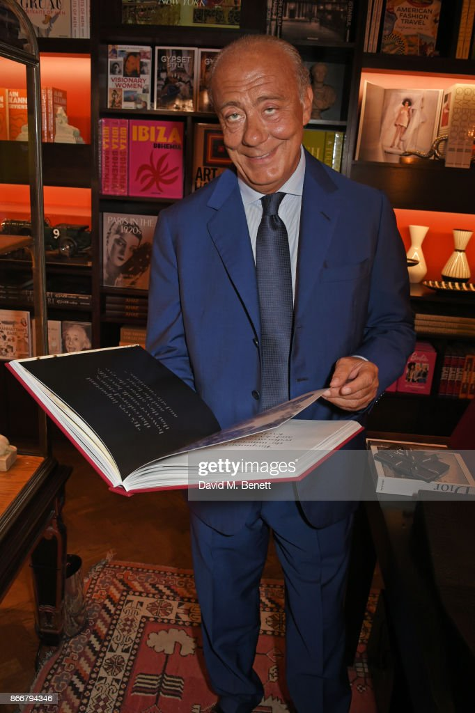 Fawaz Gruosi attends the launch of 'Daring Creativity', a book which celebrates de Grisogono's jewellery, hosted by Fawaz Gruosi and Vivienne Becker at Maison Assouline on October 26, 2017 in London, England.
