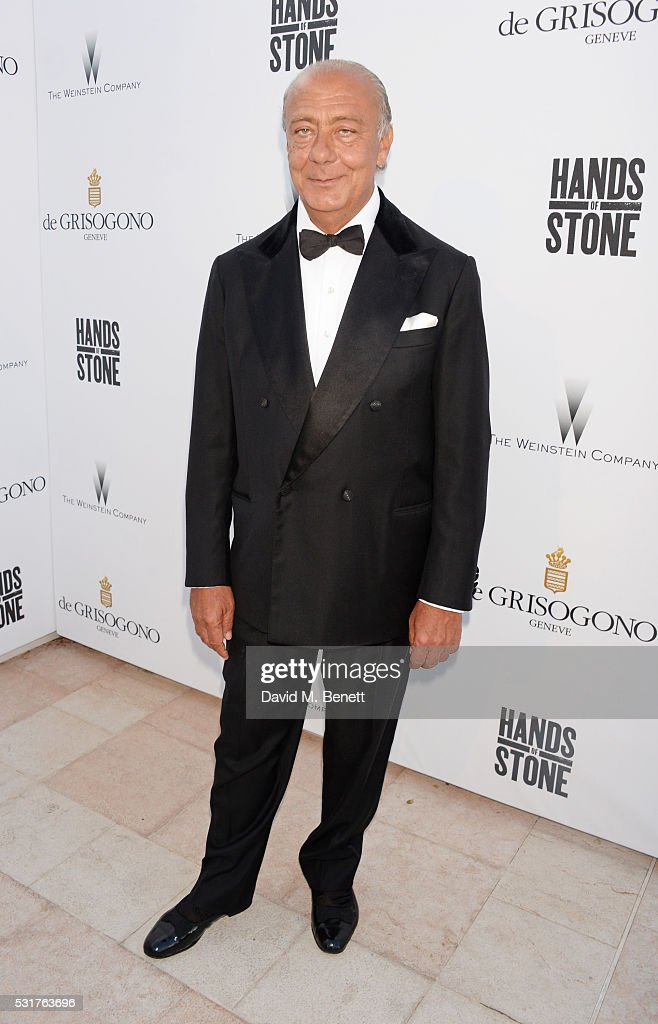 Fawaz Gruosi attends The Weinstein Company's HANDS OF STONE Cocktail Party presented by de Grisogono at Terrasse by Albane in Cannes on May 16, 2016 in Cannes, France.